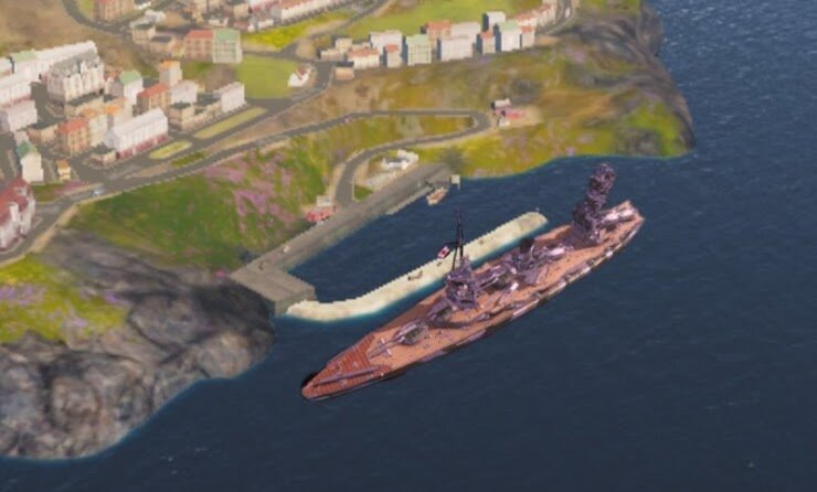 My idea is for you to include a half-sunken model of fuso outside the port in the map Shatter. This comes from the how it works series as Fuso is seen repeatedly outside this port. (until they changed it because people wanted to stop Fuso cruelty) she could also be on fire or have the wows logo or the how it works logo on the hull or superstructure.